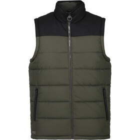 Regatta Hamill B/W Bodywarmer Vest Men dark khaki/black